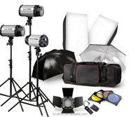 Photo Studio Flash Strobe Lighting Stand Set Carry Case Bag GODOXNEW