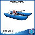 Peso ligero barco pontón pontón inflable barco de pesca / kayak