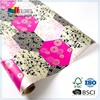 Wholesale Custom Printed Radiant Orchid Roll Wrap For Gift Wrapping Usage