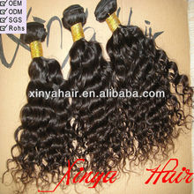 Wholesale Raw Unprocessed one donor from kinky curly human virgin hair