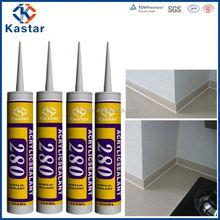 paintable waterproof craft glue 100%flexible,acrylic sealant