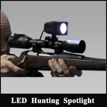 Gun rifle hunting lights CREE T6 10w LED hunting gun mounted spotlight NFG-WT61R Scope Mounted Light