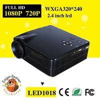 Wide angle projector trade assurance supply free sample led projector light