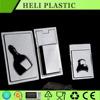earphone insert tray packaing transparent plastic blister tray