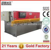 IN STOCK krrass CNC Metal plate Shear Machine, mini shearing machine(2 Years warranty)
