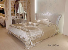 new classical luxury leather bed with hot selling model G1510