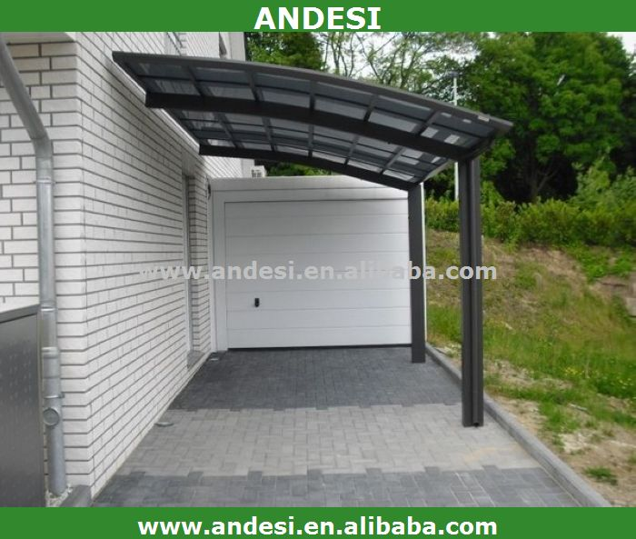 aluminium carport en plastique arc toit garage toit et abris d 39 auto id du produit 1645533000. Black Bedroom Furniture Sets. Home Design Ideas