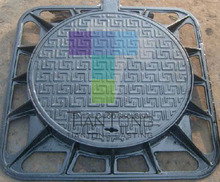 100% Factory Price Light Duty Bituminous Coated EN124 A15 B125 C250 Cast Iron Trench Cover