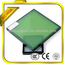 Shandong Weihua brand clear and color low-e insulated glass