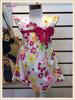 2013 Latest design kids dress summer boutique princess baby girl cotton dresses 2013