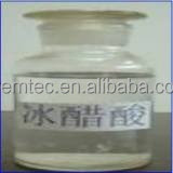 food and industrial grade Acetic acid glacial GAA 99% 99.5% 99.8%