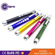 OEM ODM approval random color engraved pen light