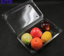 Plastic food compartment plate disposable plastic divided food tray Fruit tray