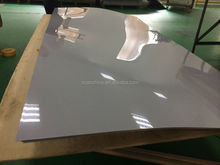 Grey black glossy rigid PVC sheet for cooling tower,hard plastic pvc rigid sheet