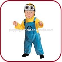 Para bebés de halloween yinfantil minion cosplay disfraces pgkc- 1015