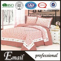 cheap plain dyed pattern and polyester cotton fabric bed sheet/ flat sheet /sheets cover sets