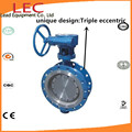 LEC La válvula de mariposa del sello de hierro dúctil metal