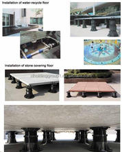 natural homogeneous outdoor raised stone floor no absorbing water