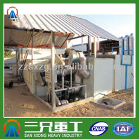 Environment friendly energy saved sawdust briquette carbonization kiln flue gas treatment equipment