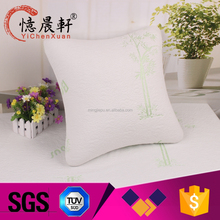 Promotion wholesale custom suede pillows,pillow with speaker
