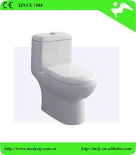 HOT SAL ! P-trap WASH DOWN ONE PIECE TOILET FOR RUSSIA and southeast asia MARKET, SINGLE TOILET