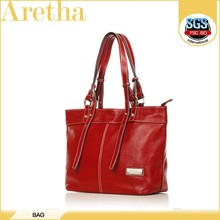 2014 fashion red down promation! vintage simple leather bag handbag for coming season