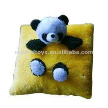plush panda cushion