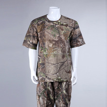 Pine Bionic Pattern Camouflage T shirts Clothing Big Game Clothes T shirts for Hunter