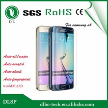 new products 9H glass screen protector for s6 edge temper glass screen protector