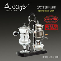4C vacuum coffee siphon pot FULL MADE IN TAIWAN