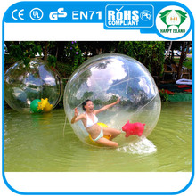 HI CE high quality PVC funny inflatable water walking ball,human sized hamster ball for sale