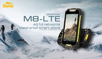 Snopow M8 IP68 waterproof 4G-LTE full networks android 5.1 OTG NFC RFID mobile phone 4g 3g cdma gsm dual sim mobile phone