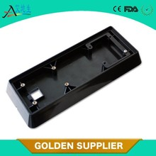 Injection molded small plastic case for electronic frame ABS, PP plastic materials