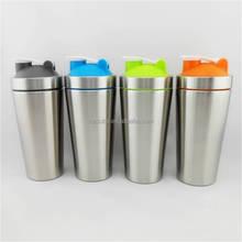 Hot Sell Promotional stainless steel Shaker Bottle/vortex Protein Shaker