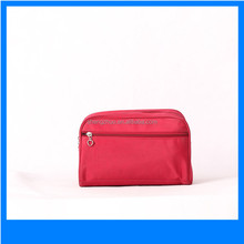 Makeup Pouch Portable Travel Cosmetic Bag plain toiletry makeup bag