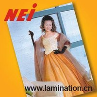 Super bonding thermal lamination digital printing film,coping with high-content of silicon oil