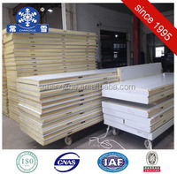 Easy to install Pu foam sandwich panel for cold room