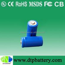 Rechargeable 3.7v 16350 li-ion battery Flashlight lithium Battery 900mah