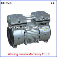 mini piston oil free air compressor/silent oil free air compressor/energy saving mute oil free air compressor