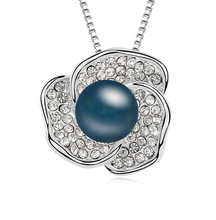 2014 fábrica al por mayor Nuevo diseño de collar de perlas