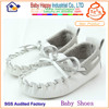 wholesale Factory price leather boy loafer baby christening shoes