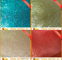 aluminum sequin fabric christmas ceiling wall decorations