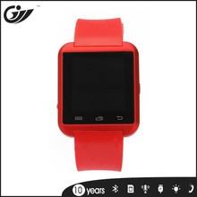 new design metal silica gel smart phone watch