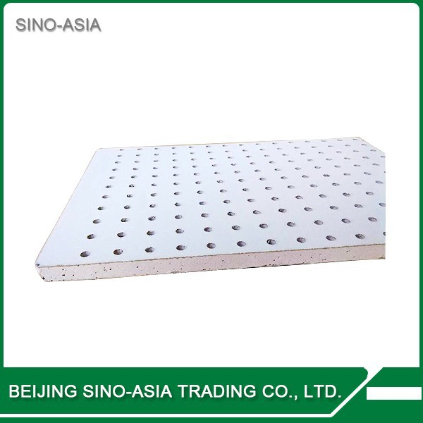Perforated gypsum ceiling board mm plaster