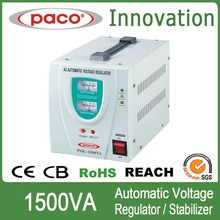 Fully automatic low dropout voltage regulators 1500va/1.5kw switch mode regulator with circuit breaker