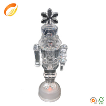 Clear acrylic santa claus flying infrared induction control angel remote control christmas toy