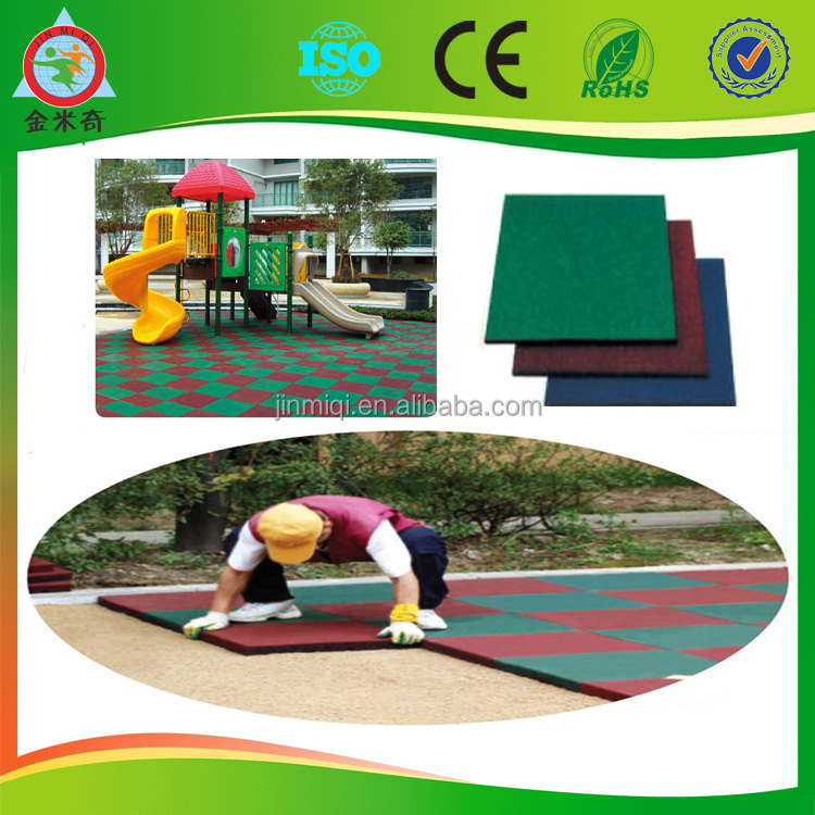 2014 rubber mat outdoor rubber flooring outdoor playground for Outdoor safety flooring