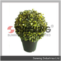 wholesale plastic plant grass ball hanging flower ball house decoration