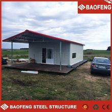 stable structure chinese low cost prefabricated house