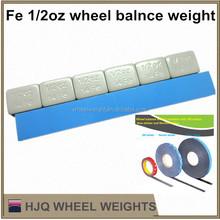 Fe 1/2 oz wheel balance weight